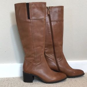 Franco Sarto Brown Riding Boots
